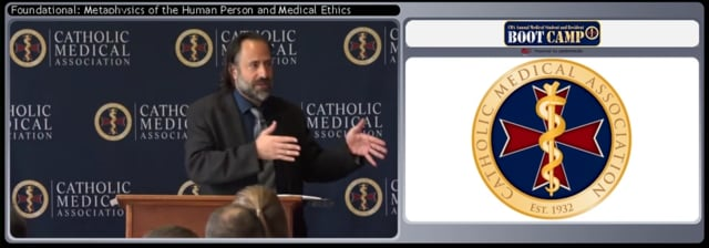 Metaphysics of the Person and Medical Ethics (2018 CMA boot camp talk 1)